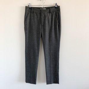 ZARA Glen Plaid Crop / Ankle Pants Gray US 4
